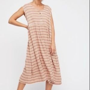 Free People oversized Gauve Mighty Fine Dress